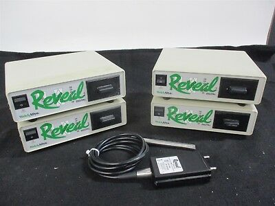 Lot of 4 Welch Allyn Reveal Dental Intraoral Control Boxes for Patient Education