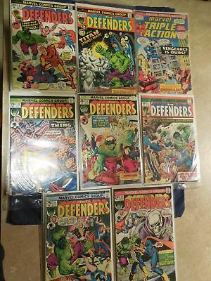 Marvel Triple Action Captain America #14 and The Defenders #9 12 20 22 23 32 34