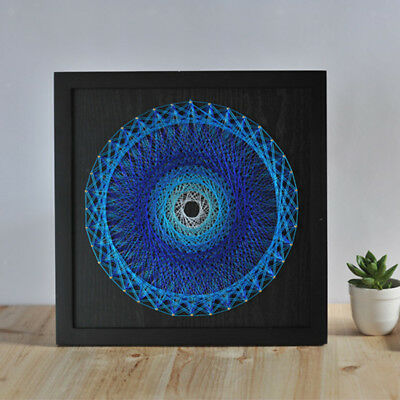 DIY Bird's Nest Crafts String Art Kits Painting for Beginners Home Decor