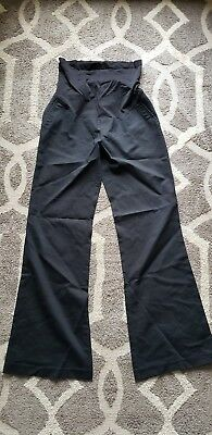 A Pea In The Pod Sz Xs Extra Small 0 2 Black Maternity Dress Pants. Perfect...
