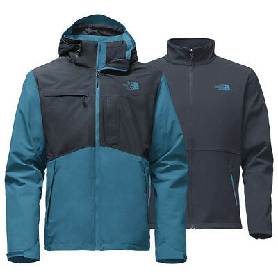 NEW North Face Condor TriClimate Mens BLUE SKI SNOWBOARD Jacket Size M $300