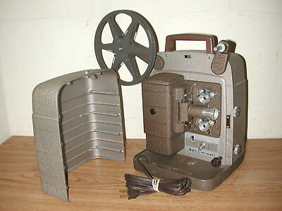 Vintage Bell & Howell Model 253-Ax 8Mm Film Projector