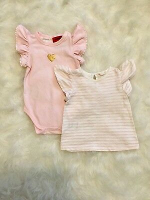 Country Road Baby Girls Bodysuit & Top Size 00