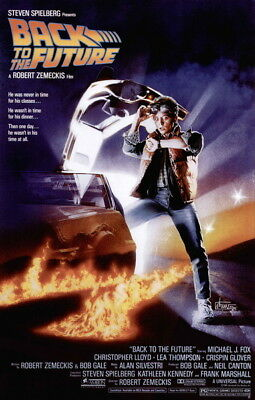 """005 Back To The Future - Marty Dr Emmett Classic Movie 14""""x21"""" Poster"""
