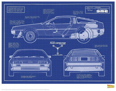 """024 Back To The Future - Marty Dr Emmett Classic Movie 30""""x24"""" Poster"""