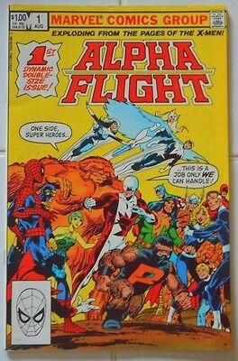 41ct ALPHA FLIGHT LOT 1-29 SOLID+/HIGH GRADES/VINTAGE 80's/WOLVERINE/X-MEN/BYRNE