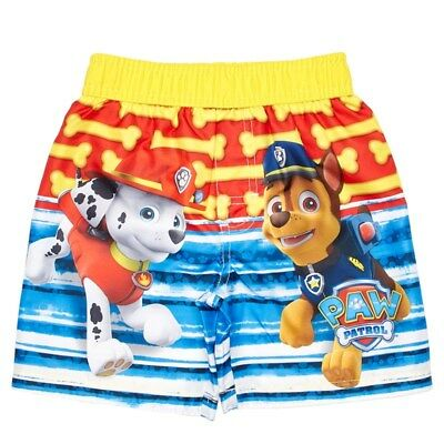PAW PATROL CHASE UPF-50+ Bathing Suit Swim Trunks Toddlers Sz. 2T, 3T or 4T