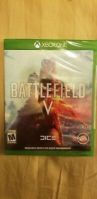 Battlefield V - Deluxe Edition (Microsoft Xbox One, 2018) Factory sealed new