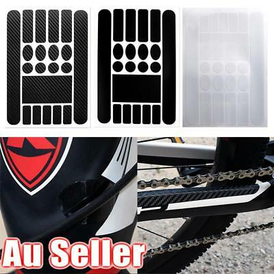 AU Bike Chain Protect Sticker Mountain Bicycle Front Fork Film Scratch-Resistant