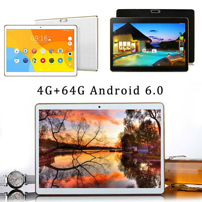 "10.1"" Tablet Android 6.0 PC 4G+64G Octa Core Dual SIM +Camera Phone Wifi Phablet"