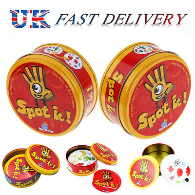 For Spot it Kids Game High Quality Paper Dobble it for Family Game Cards