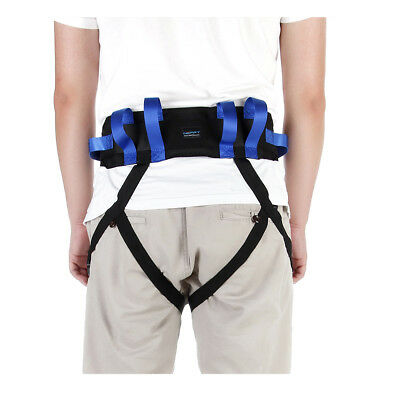 Gait Transfer Belt With Leg Loops Medical Lift Sling Patient Care Safety Walking
