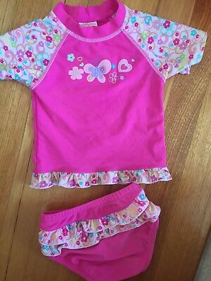 Little Treasure Baby Girls Toddlers Swim Suit Size 2 Exc Con FREE POsTaGE