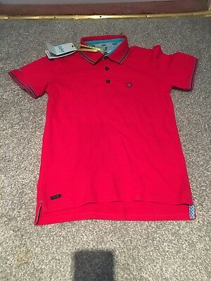 boys Ted Baker Polo Shirt Age 6-7 years