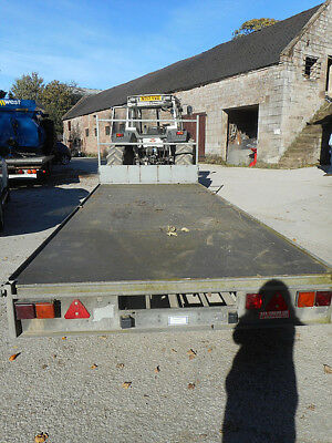Ifor Williams Lm166 Flat Bed Year 2011 C2046 16Ft