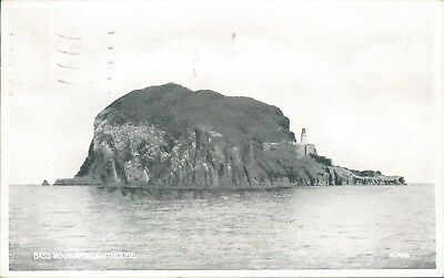 Bass rock and lighthouse valentine silveresque