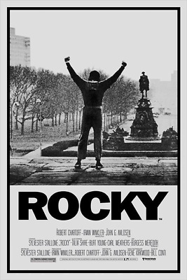 ROCKY MOVIE SCORE POSTER (61x91cm)  PICTURE PRINT NEW ART