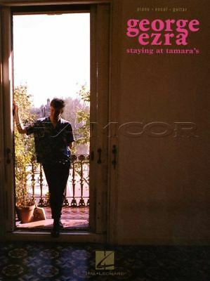 George Ezra Staying at Tamara's Piano Vocal Guitar Sheet Music Book Shotgun