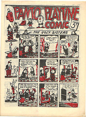 PANTO PLAYTIME Comic #1 (Hotspur) Rare 1948 Near Mint one-shot 3d British issue!