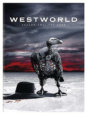 Westworld: The Second Season 2 Two (DVD, 2018, 3-Disc Set) NEW, Free Shipping.