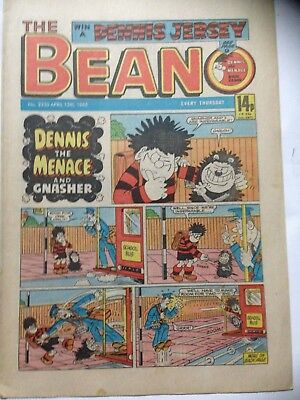 DC Thompson THE BEANO Comic. Issue 2230. April 13th 1985. **Free UK Postage**