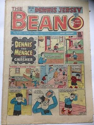 DC Thompson THE BEANO Comic. Issue 2083. June 19th 1982. **Free UK Postage**