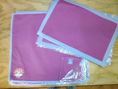 Susan Sargent For Rennie and Rose Placemats and Napkins- Set of 4
