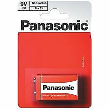 Panasonic 9V Size Zinc Carbon Battery (PP3)