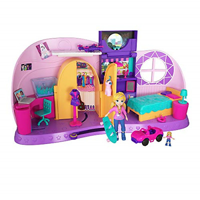 Polly Pocket FRY98 Polly's Go Tiny Playset