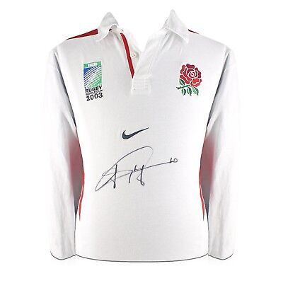 Jonny Wilkinson Signed 2003 England World Cup Rugby Shirt