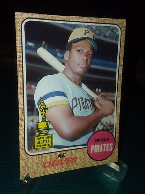 Pittsburgh Pirates Al Oliver 1968 RC style  Custom Art Card ACEO