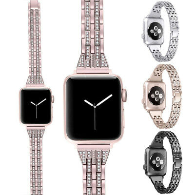 Cinturino Acciaio Inox Bracciale Watch Band Per Apple Watch 40 44mm Series 4 3 2
