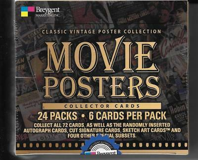 Breygent Classic Vintage Movie Posters  2007 Factory Sealed Box
