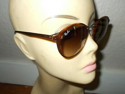 80b602850b RAY-BAN RB 4242 6201 13 Tech Light Ray Tortoise Frame Brown Lenses  Sunglasses