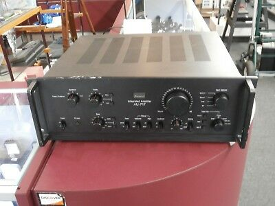 Sansui AU-717 Integrated Amplifier Parts or Repair (smoked when powered on)