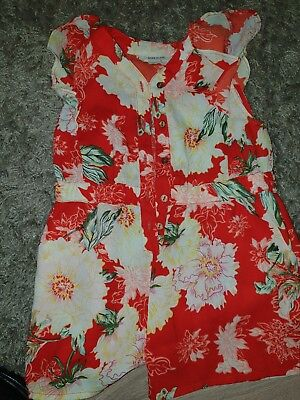 girls playsuit age 4 river island