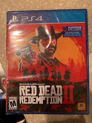 red dead redemption 2 PS4 *new*