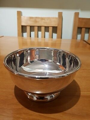 Lovely Silver Plate Bowl marked on the bottom.