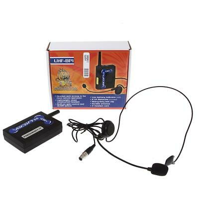 VocoPro UHF-BP1 Wireless Bodypack Transmitter and Headset Microphone - #1049846