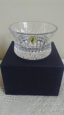 NEW in box Waterford Crystal Lismore Diamond Nut Bowl