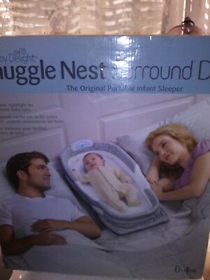 """Baby Delight """"snuggle Nest"""" (Surround Dl) The Original Portable Infant Sleeper"""
