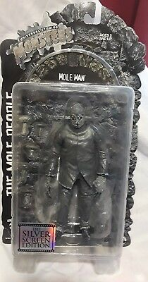 The Mole People Mole Man-Universal Monsters-2001 Silver Screen-New On Card