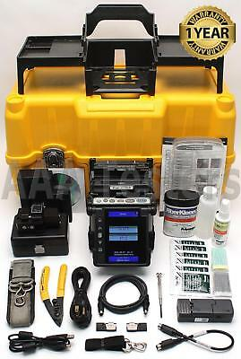 Fujikura 70R SM MM Fixed V-Groove Ribbon Fiber Fusion Splicer w/ Cleaver FSM 70