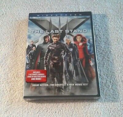 Hugh Jackman X-MAN THE LAST STAND Patrick Stewart BRAND NEW FACTORY SEALED Berry