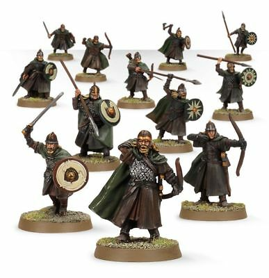 Games Workshop  Lord of the rings 12 plastic Warriors Of Rohan - New on Sprue