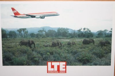 AK Airliner Postcard LTE B.757 airline issue