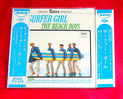 The Beach Boys Surfer Girl MINI LP CD JAPAN TOCP-50851 + PROMO OBI