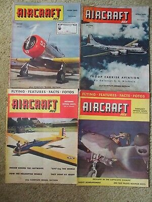Aircraft Age Magazines 1940s