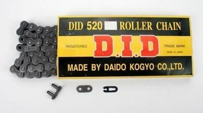 D.I.D 520 STD Standard Series Non O-Ring Chain 114 Links Natural 520 x 114