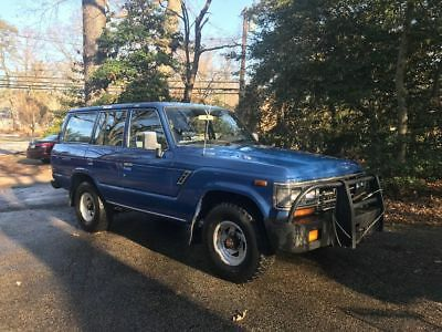 1988 Toyota Land Cruiser  1988 toyota land cruiser fj 62
